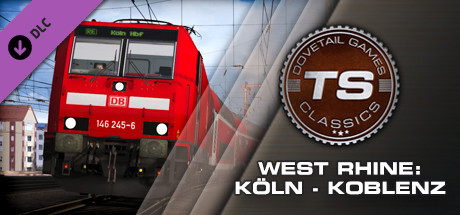 Train Simulator: West Rhine: Cologne - Koblenz Route Add-On cover art