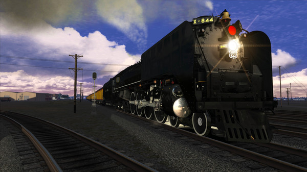 скриншот Train Simulator: Union Pacific FEF-3 Loco Add-On 5
