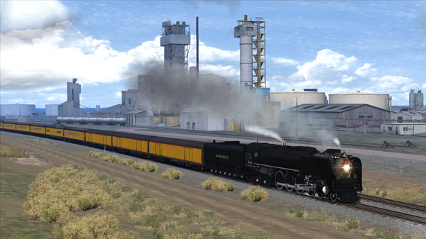 скриншот Train Simulator: Union Pacific FEF-3 Loco Add-On 1
