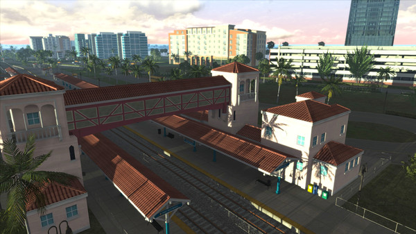 скриншот Train Simulator: Miami - West Palm Beach Route Add-On 1