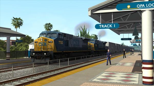 скриншот Train Simulator: Miami - West Palm Beach Route Add-On 0