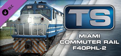 Train Simulator: Miami Commuter Rail F40PHL-2 Loco Add-On cover art