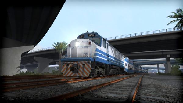 скриншот Train Simulator: Miami Commuter Rail F40PHL-2 Loco Add-On 0