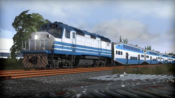 скриншот Train Simulator: Miami Commuter Rail F40PHL-2 Loco Add-On 4