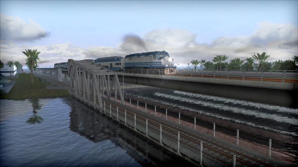 скриншот Train Simulator: Miami Commuter Rail F40PHL-2 Loco Add-On 1