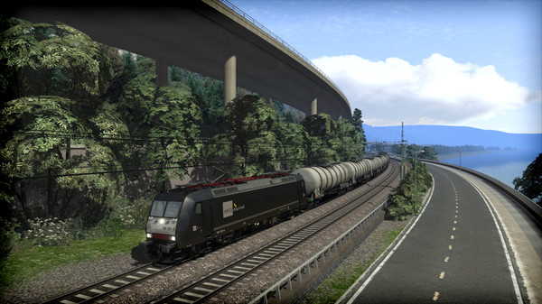 скриншот Train Simulator: MRCE BR 185.5 Loco Add-On 5
