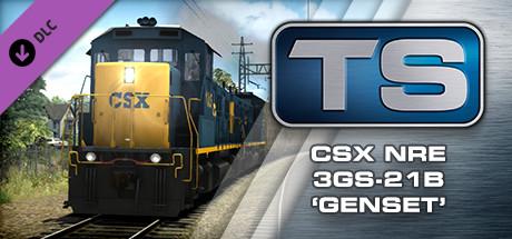 Train Simulator: CSX NRE 3GS-21B Genset Loco Add-On