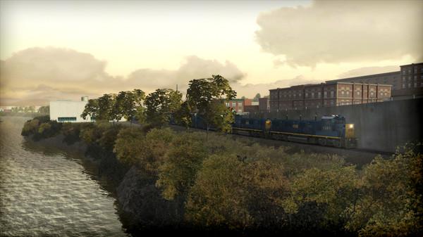 скриншот Train Simulator: CSX NRE 3GS-21B 'Genset' Loco Add-On 3