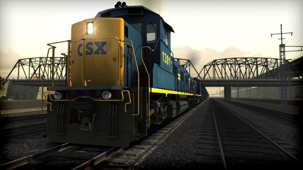 скриншот Train Simulator: CSX NRE 3GS-21B 'Genset' Loco Add-On 2