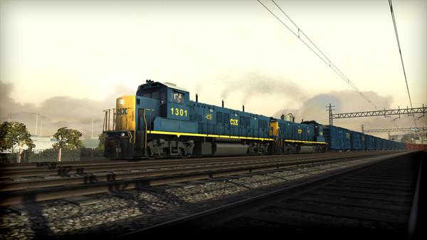 скриншот Train Simulator: CSX NRE 3GS-21B 'Genset' Loco Add-On 5