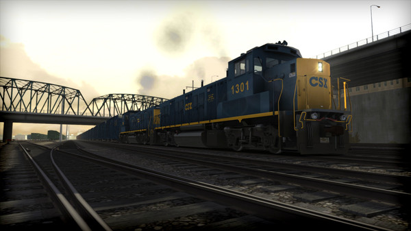 скриншот Train Simulator: CSX NRE 3GS-21B 'Genset' Loco Add-On 1