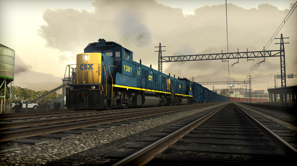 скриншот Train Simulator: CSX NRE 3GS-21B 'Genset' Loco Add-On 0