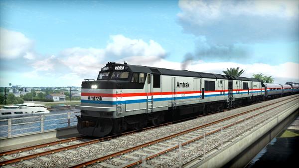 скриншот Train Simulator: Amtrak P30CH Loco Add-On 5