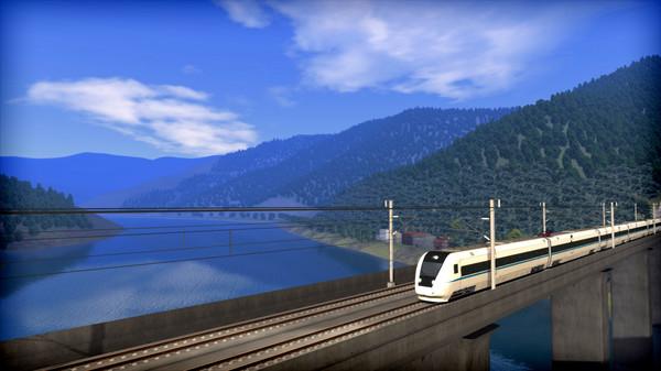 скриншот Train Simulator: Chengdu - Suining High Speed Route Add-On 2