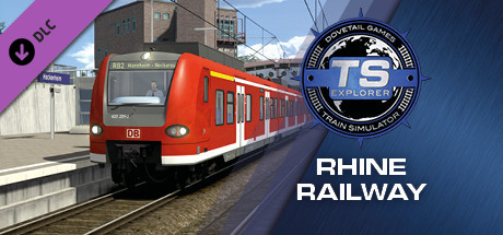 Train Simulator: The Rhine Railway: Mannheim - Karlsruhe Route Add-On