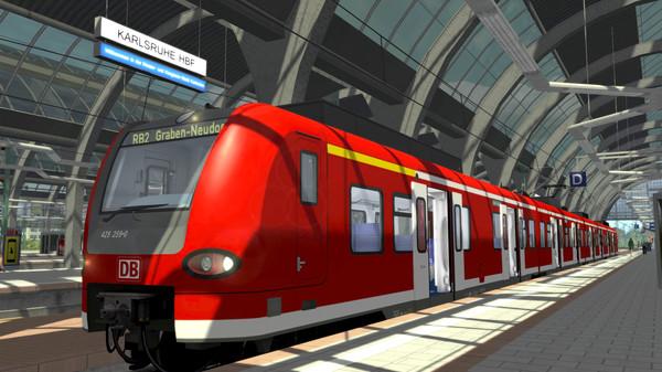 скриншот Train Simulator: The Rhine Railway: Mannheim - Karlsruhe Route Add-On 0