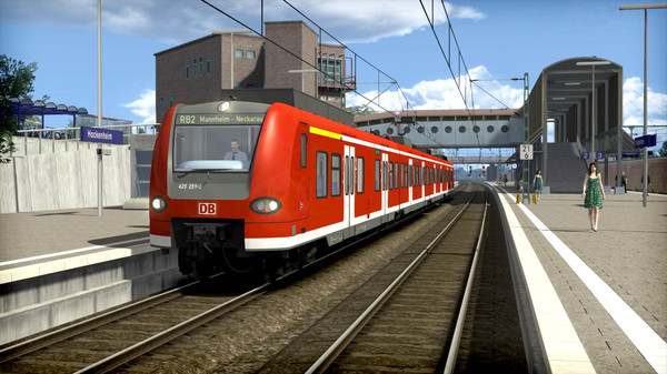 скриншот Train Simulator: The Rhine Railway: Mannheim - Karlsruhe Route Add-On 5