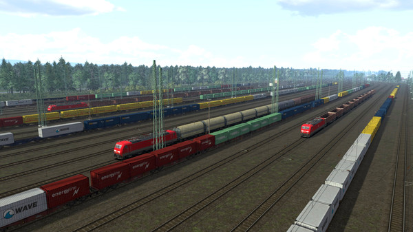 скриншот Train Simulator: The Rhine Railway: Mannheim - Karlsruhe Route Add-On 3