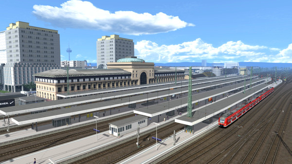 скриншот Train Simulator: The Rhine Railway: Mannheim - Karlsruhe Route Add-On 1