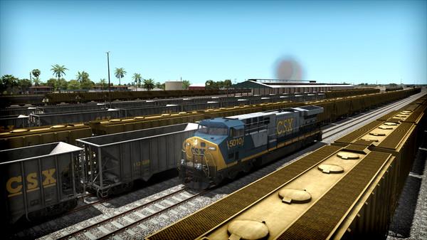 скриншот Train Simulator: CSX AC6000CW Loco Add-On 3
