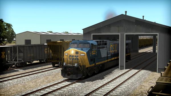 скриншот Train Simulator: CSX AC6000CW Loco Add-On 1