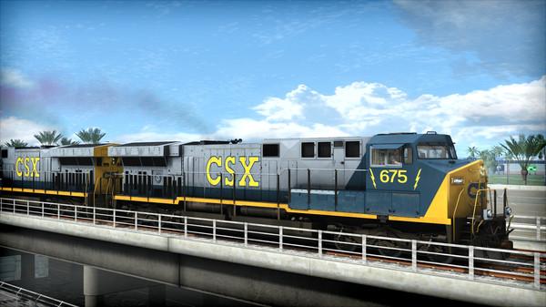 скриншот Train Simulator: CSX AC6000CW Loco Add-On 4