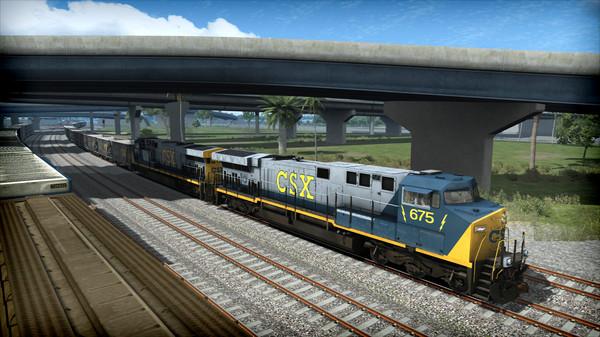 скриншот Train Simulator: CSX AC6000CW Loco Add-On 0
