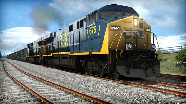скриншот Train Simulator: CSX AC6000CW Loco Add-On 5