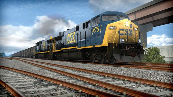 скриншот Train Simulator: CSX AC6000CW Loco Add-On 2