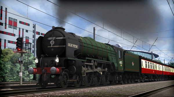 скриншот Train Simulator: LNER Peppercorn Class A2 'Blue Peter' Loco Add-On 0
