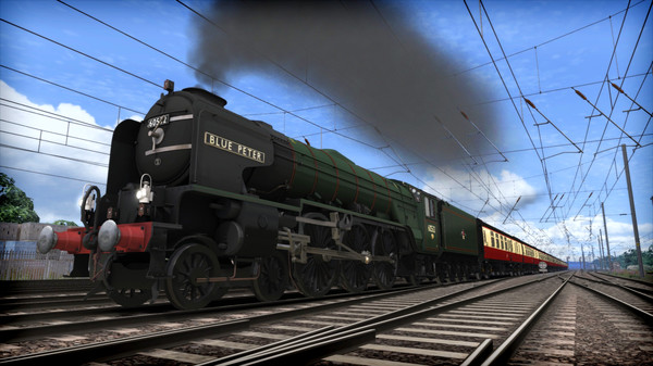 скриншот Train Simulator: LNER Peppercorn Class A2 'Blue Peter' Loco Add-On 2