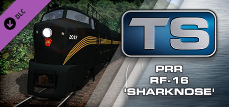 Train Simulator: PRR RF-16 Sharknose Loco Add-On