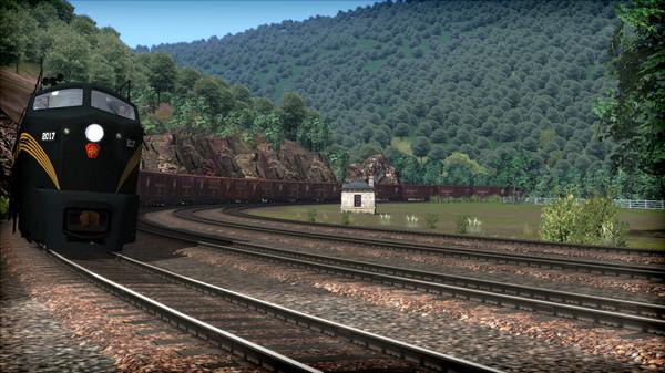 скриншот Train Simulator: PRR RF-16 'Sharknose' Loco Add-On 3