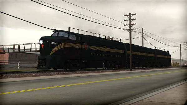 скриншот Train Simulator: PRR RF-16 'Sharknose' Loco Add-On 1