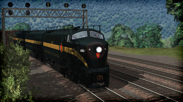 скриншот Train Simulator: PRR RF-16 'Sharknose' Loco Add-On 0