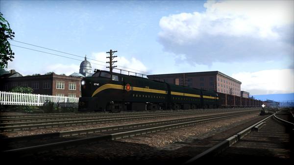 скриншот Train Simulator: PRR RF-16 'Sharknose' Loco Add-On 5