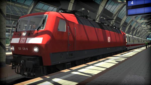 скриншот Train Simulator: DB BR 120 Loco Add-On 5