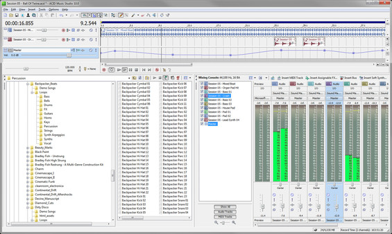 ACID Music Studio 10 - Steam Powered