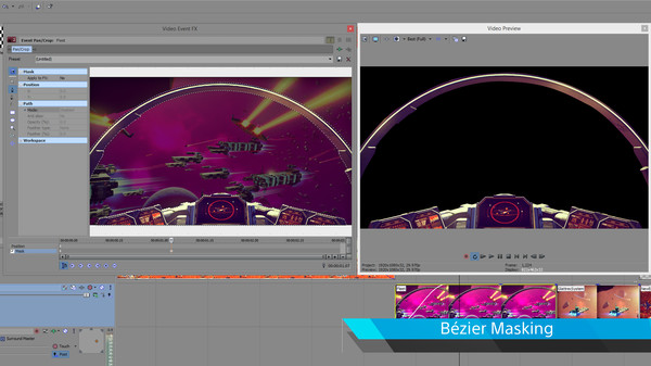 Vegas Pro 13 Edit - Steam Powered