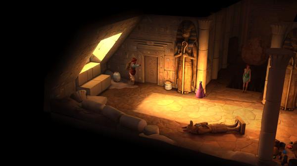 Screenshot of The Book of Unwritten Tales 2