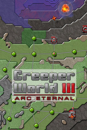 Creeper World 3: Arc Eternal poster image on Steam Backlog