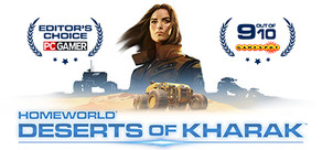 Homeworld: Deserts of Kharak cover art