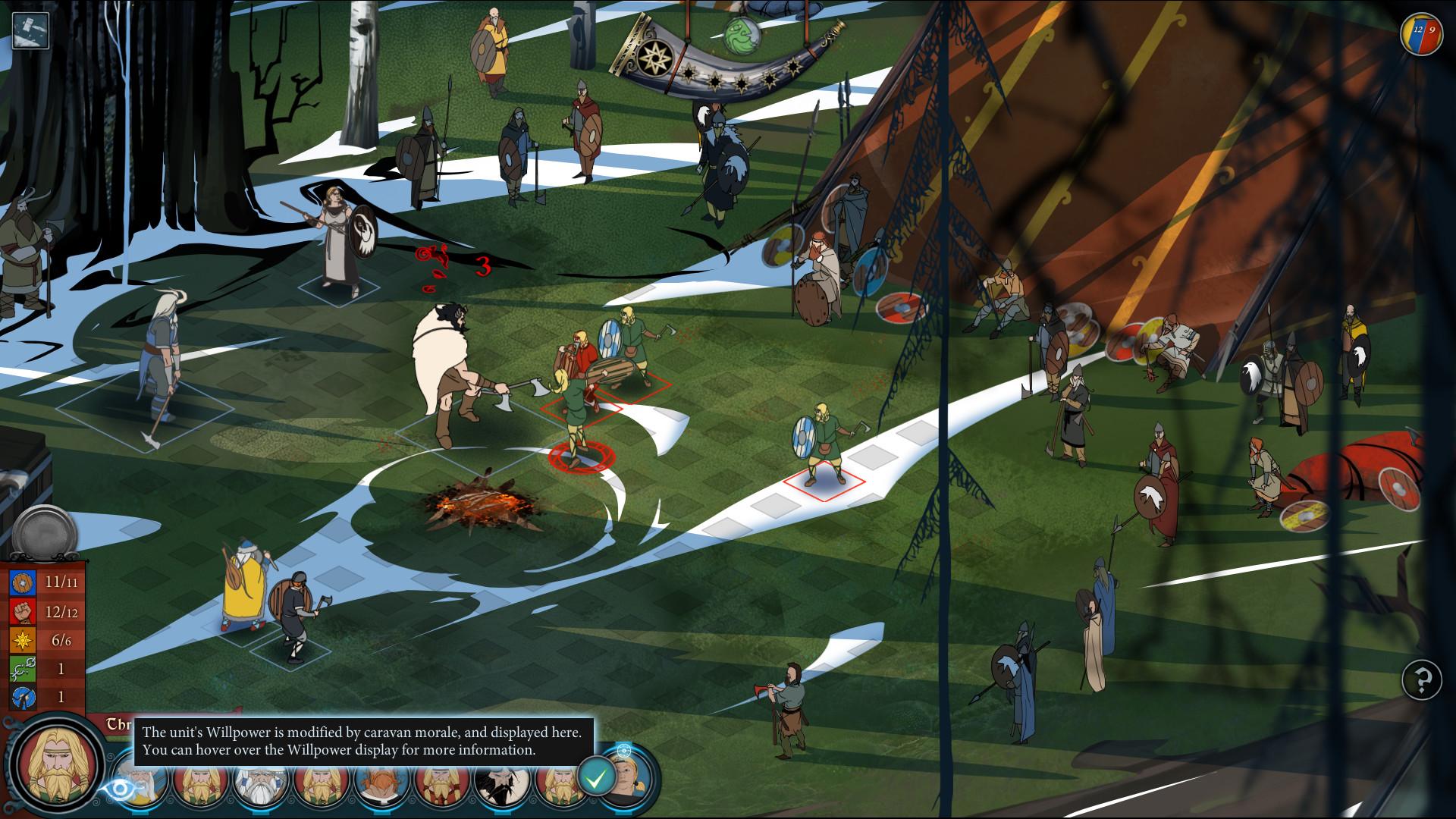 The Banner Saga 2 - Deluxe Edition screenshot 2