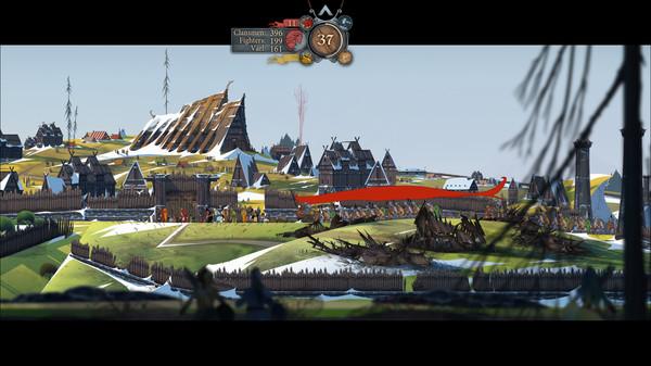 скриншот The Banner Saga 2 13