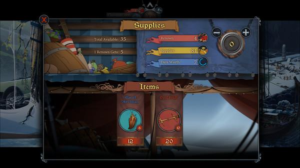 скриншот The Banner Saga 2 14