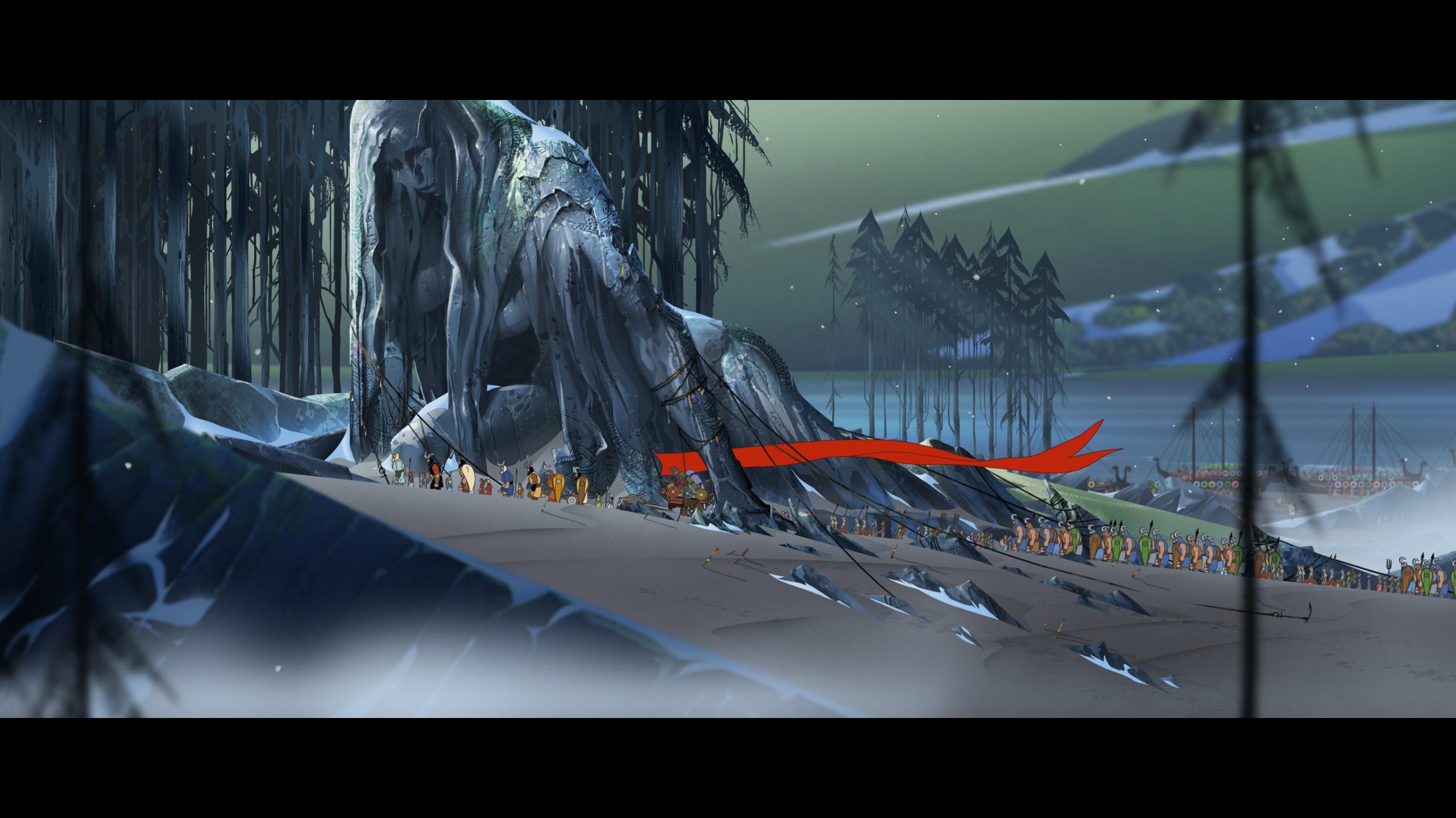 Banner Saga 2 Scenery