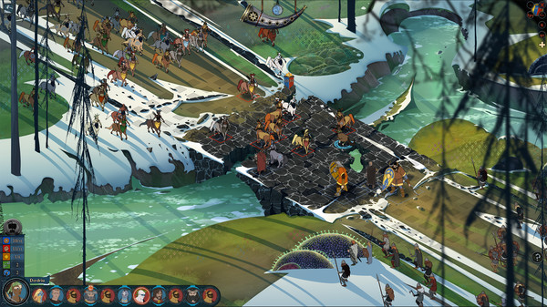 скриншот The Banner Saga 2 7
