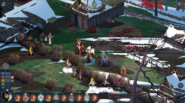 скриншот The Banner Saga 2 17