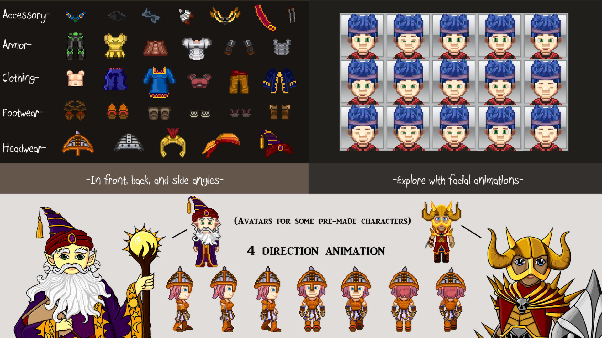 Indie Graphics Bundle - Royalty Free Sprites System Requirements
