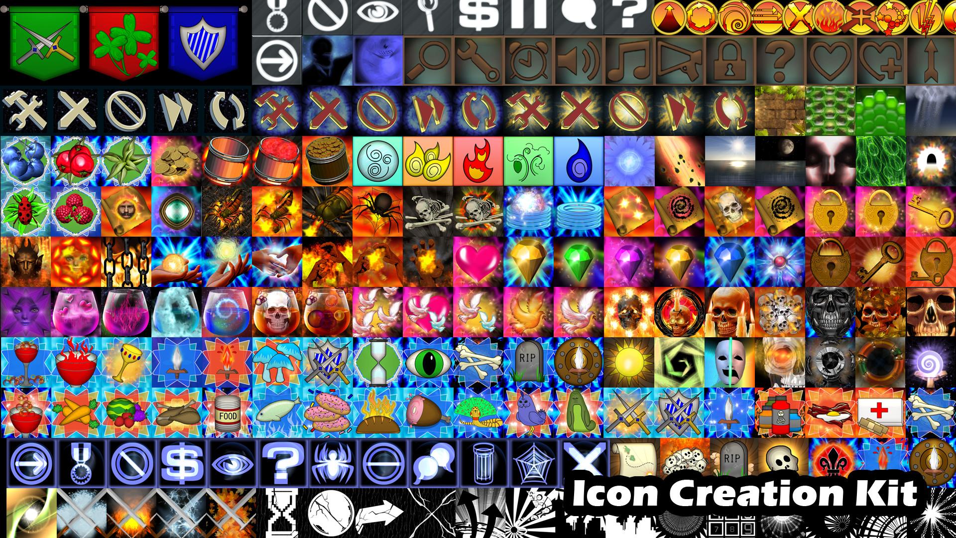 Indie Graphics Bundle - Royalty Free Sprites